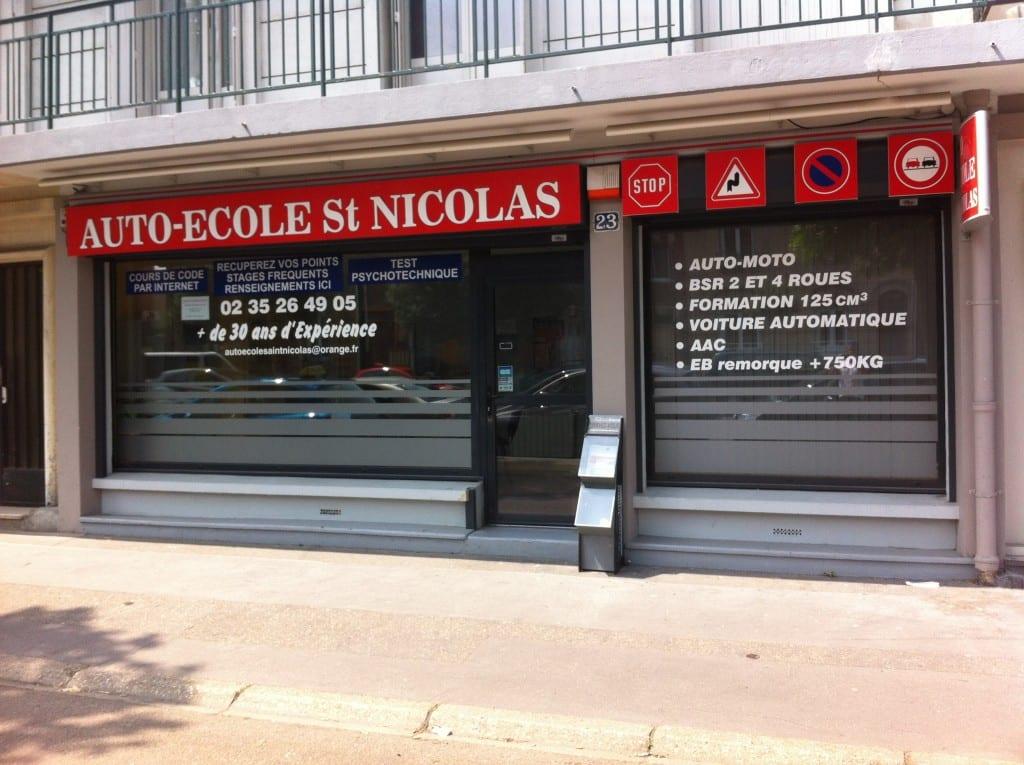 auto-école St Nicolas